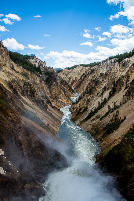 2017 06 12 Views From the Brink of the Lower Falls, Yellowstone River19